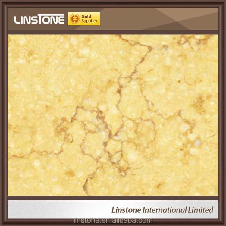 High Quality Luxury Sunny Yellow Marble Tiles