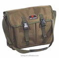 S,mall size green color carp fishing shoulder bag
