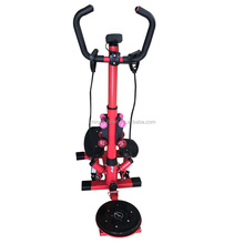 Multifunctional Twister Stepper with Resistance Bands Handles with Dumbbells