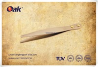 Spark free Antisparking hot sale for petroleum factory Be-Cu TWEEZER (WIDE FLAT NOSE)