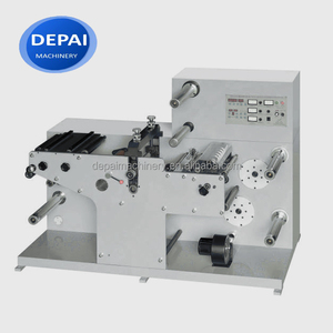 DEPAI DES320 Adhesive Label Paper Rotary Slitting Die Cutting Machine Factory Price