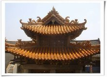 Oriental polycarbonate roof tiles
