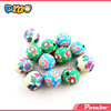 handmade and colorful polymer clay jewelry making beads