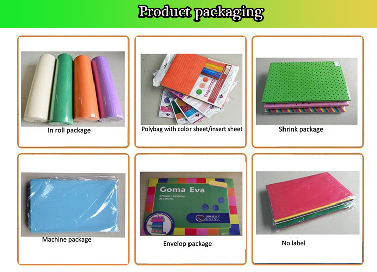 Changsha eva glitter foam sheet eva rubber sheets