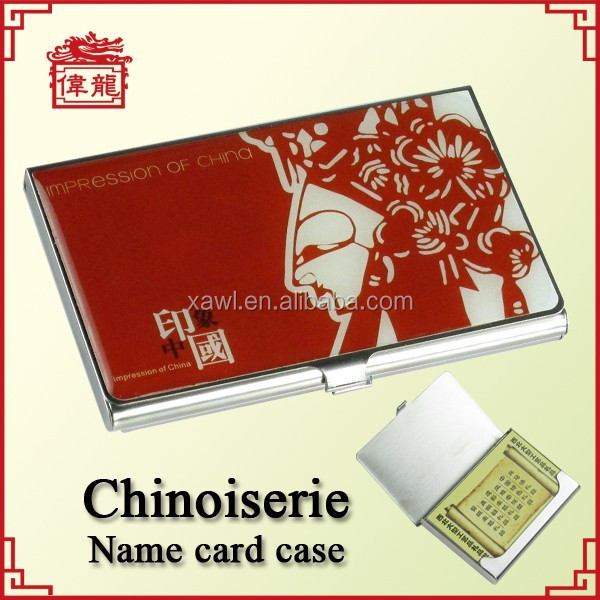 Corporate gift items custom business card holder TZ906