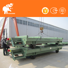 Metal Industry Customized Coil Transfer Railroad Transportation Vehicle