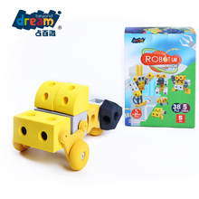 OEM EVA Customized China Wholesale Quality Assurance Colourful building blocks kindergarten toys for children playing materials