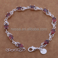 fashion bracelet silver jewelry bangkok wholesale NSBR-26023