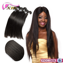 XBL factory price virgin remy Peruvian hair weave, silky straight wave hair extensions