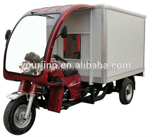 enclosed motor tricycle made in china