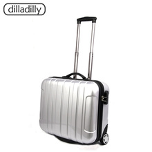 Classic ABS Hard Shell Suitcase Trolley Case With Wheel Luggage Laptop Suitcase Travel Bags