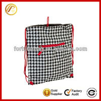 Houndstooth sack sling bag for wholesale