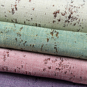 Cotton&linen Jacquard Curtain Fabric for Upholstery and Home Textile