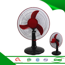 16'' oscillating wholesale solar camping table fan parts factory