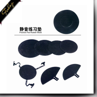 Practice Pad Rubber Made good quality black Drum head skin