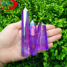 Natural polished small crystal Gemstone Carves Quartz Single Terminated Point/Prism rock crystal