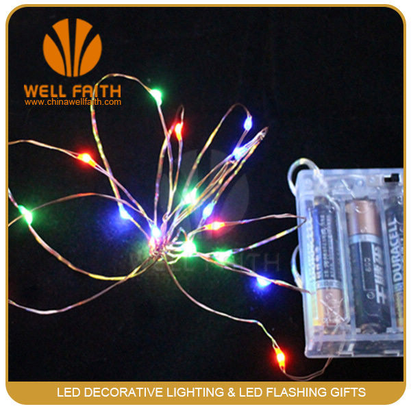 Battery operated led string lights for Holiday