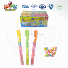 toothbrush shaped bead candy