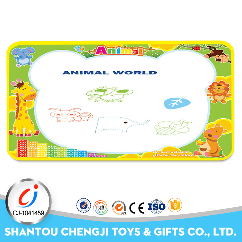 Funny painting cloth book diy drawing board game mat for kids