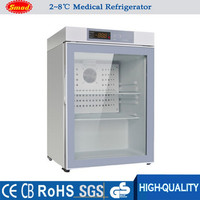 China Manufacture 2 to 8 degree Mini Style under-counter Medical Refrigerator, vaccine refrigerator