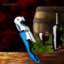 Amazon Hot Sale Stainless Steel Wine Screw Corkscrew Opener Household Accessories Wine Champagne Grape Wine Bottle Opener