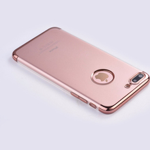 2016 newest mobile phone electroplate phone case for apple iphone 6 case Laser carving Electroplate TPU