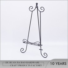 Metal drawing painting easel plate stand, canvas painting stand