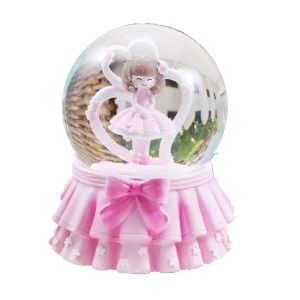 SNOW GLOBE SOUVENIR Glass Snowglobe Diy Snow ball Handmade Snowglobes Snow Globe Kit