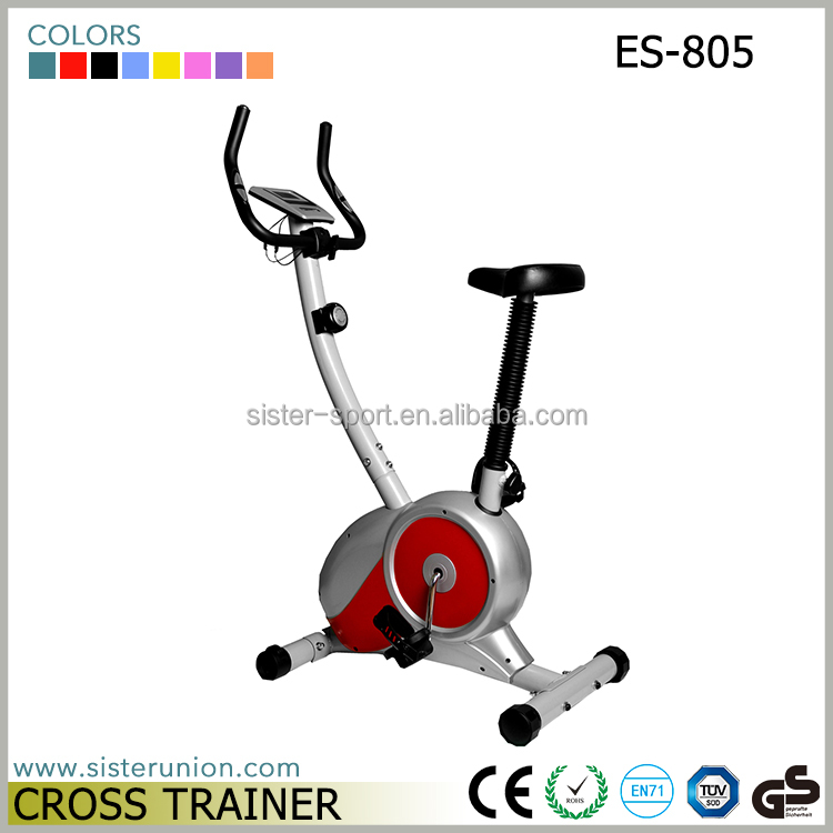 ES-805 recumbentg gym fitness equipment body fit exercise cycle machine