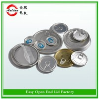 Free sample 209/300/307/401 open instruction Aluminum can lid easy open metal cap