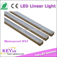 Recessed Linear Led IP67 Lighting Fixture Outdoor Led Linear Light