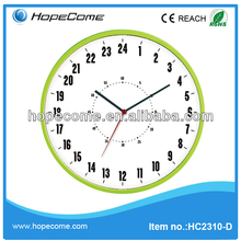 (HC2310-D) 24 hours plastic young town quartz Kassel clock Clocky Alarm Clock movements