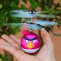 Hot Sale Quadcopter Frame 2.4g 4ch RC Quadcopter flying bird rc helicopter long fly time HAPPY BIRD FLYER