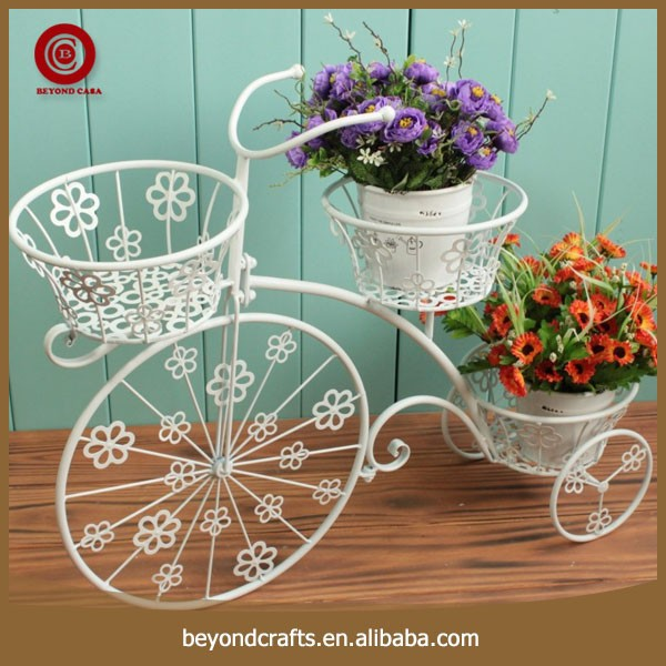 Newest elegant modern style metal bicycle plant stand