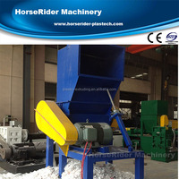 rigid panel car bumper profile plastic crusher machine