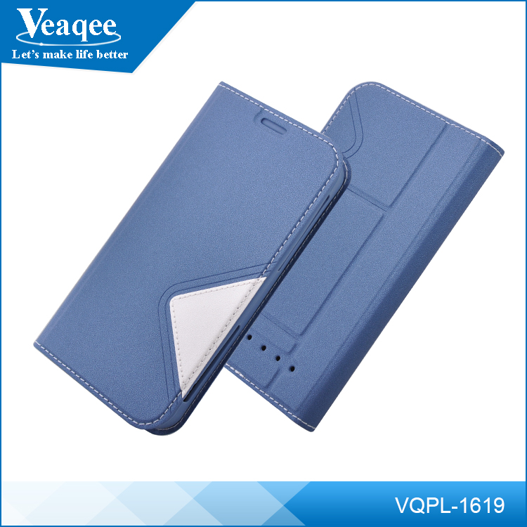 Veaqee Universal Smart Phone Wallet Style PU Leather Case/Two Mobile Phones Leather Case