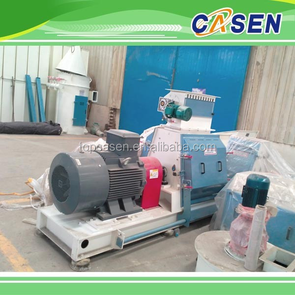 Animal feed line machine corn crusher electric
