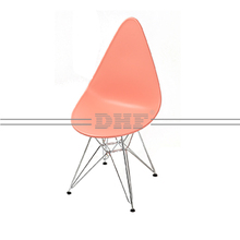 High Quality Wholesale Plastic Chair PP Seat With Chromed Legs
