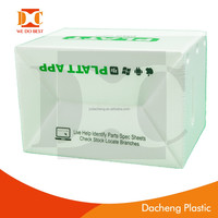 PP corrugated plastic Corflute box with lids for fish,oysters,seafood wholesaler,supplier
