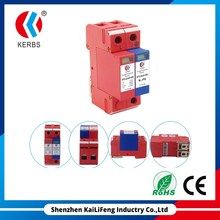Single phase MOV+GDT Protection 40KA 1+NPE Power Surge Protective Device SPD