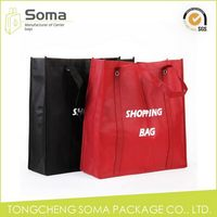 Competitive price professional full color printed non woven tote bag