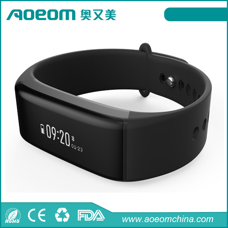2016 new fashion health assistant waterproof bluetooth smart watch/smart bracelet