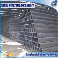 2016 hot rolled rhs shs square steel hollow sections steel pipe