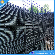 high quality powder coated double loop wire mesh fence /garden Double Circle Fence