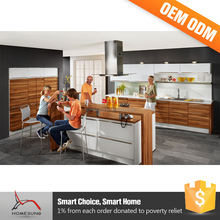 Modern Solid Wood Kitchen Units