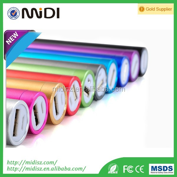 Round Type and Gift Power Bank for Mobile Phone Digital Devices 2600mah
