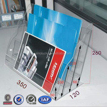 Acrylic table book holder,office book stand
