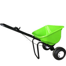 Garden hand fertilizer spreader