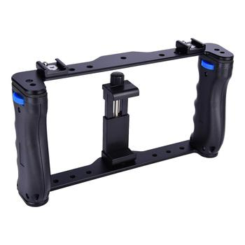 YELANGU Phone Stabilizer Steadicam Smartphone Video Rig for Mobile Phone Size Under 6.6 inch