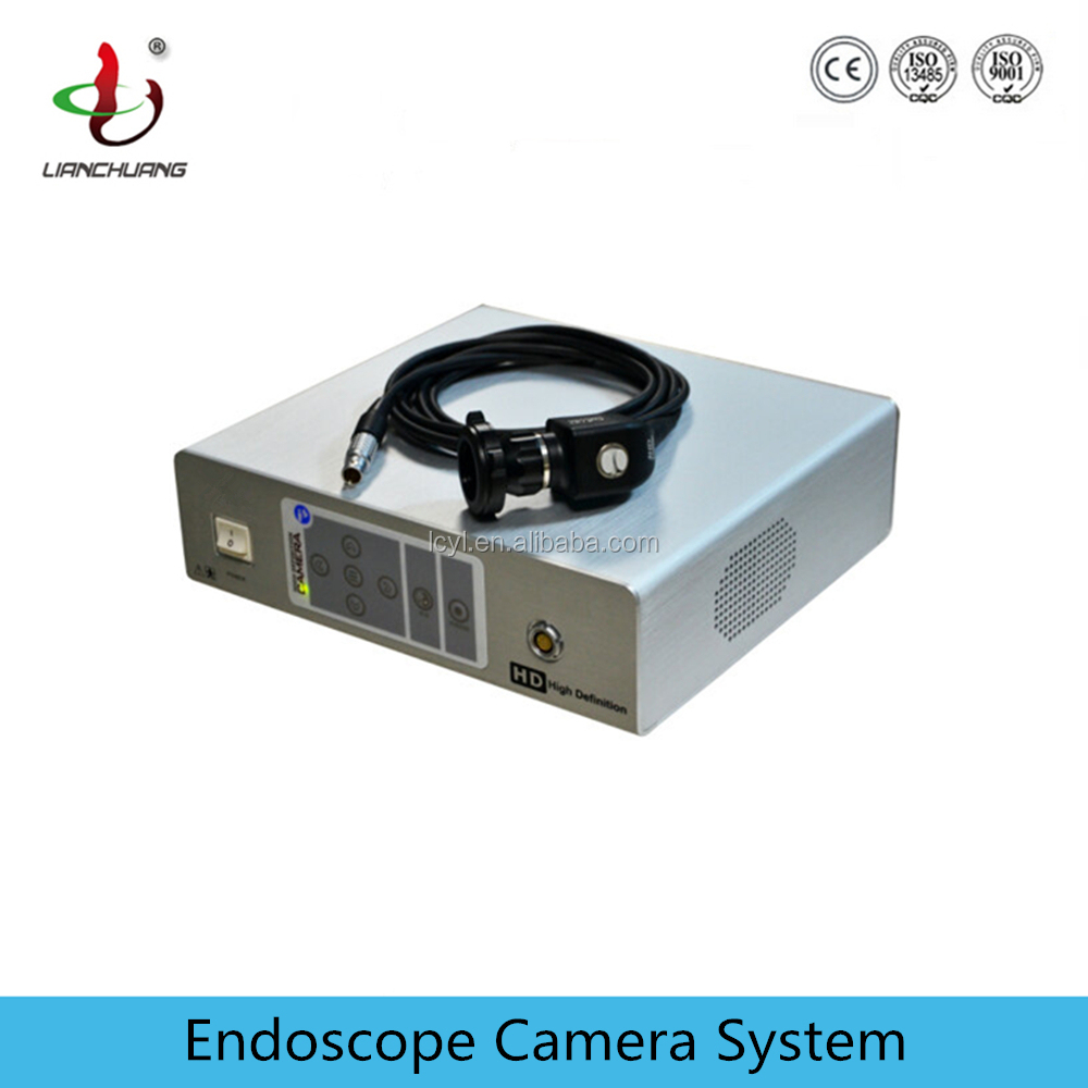 Hysteroscope use portable endoscope camera with adapters